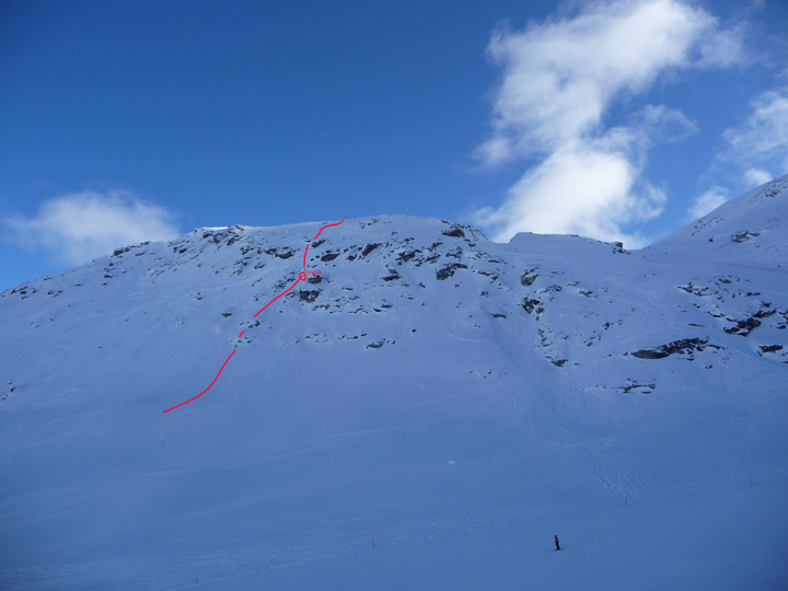 My line in Engadin 2010